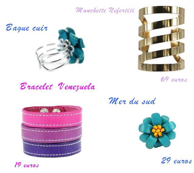 Planche de bijoux - Collection de Bijoux Chérie- Blog beauté Les Mousquetettes