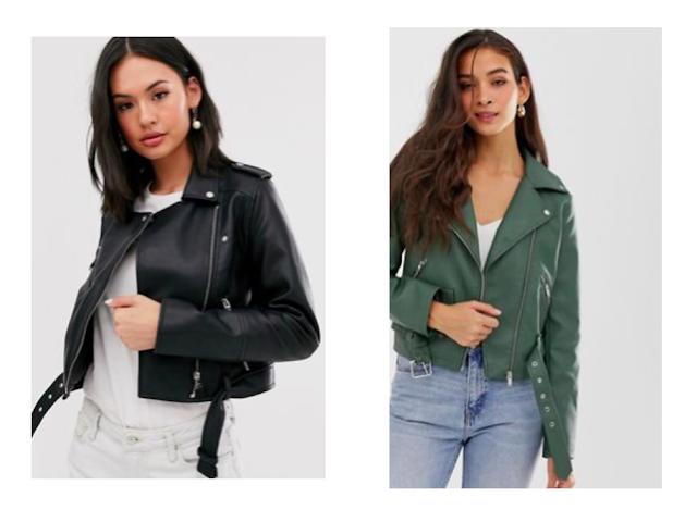 Fashionable Leather Jacket