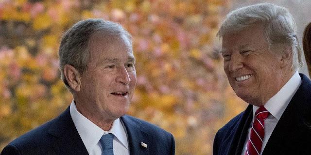 Kecewa Dengan Trump, Puluhan Pejabat Republik Era George W. Bush Tinggalkan Partai Republik