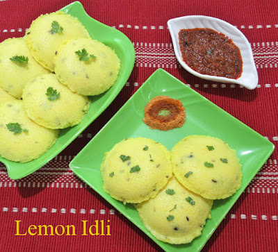 lemon idli