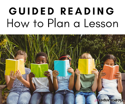 Want to learn how to plan a guided reading lesson?  These simple tips will help to make sure your groups are fun and efficient!  Check them out!
