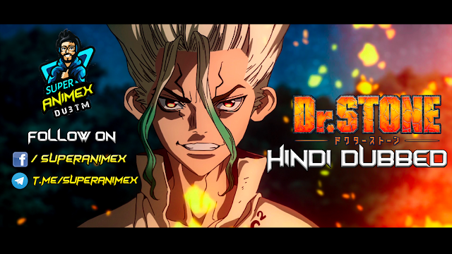 Dr. Stone [Hindi Dubbed]