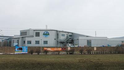 Ansicht des Schwimmbads GalaxSea in Jena