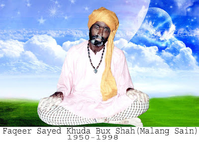 Syed Khuda Bux shah Malang Sain son of ANwar Shah Sufi FaqeerGhotki