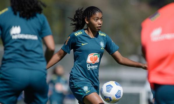 Jogadora do Fortaleza é convocada para a Seleção Brasileira Sub-17