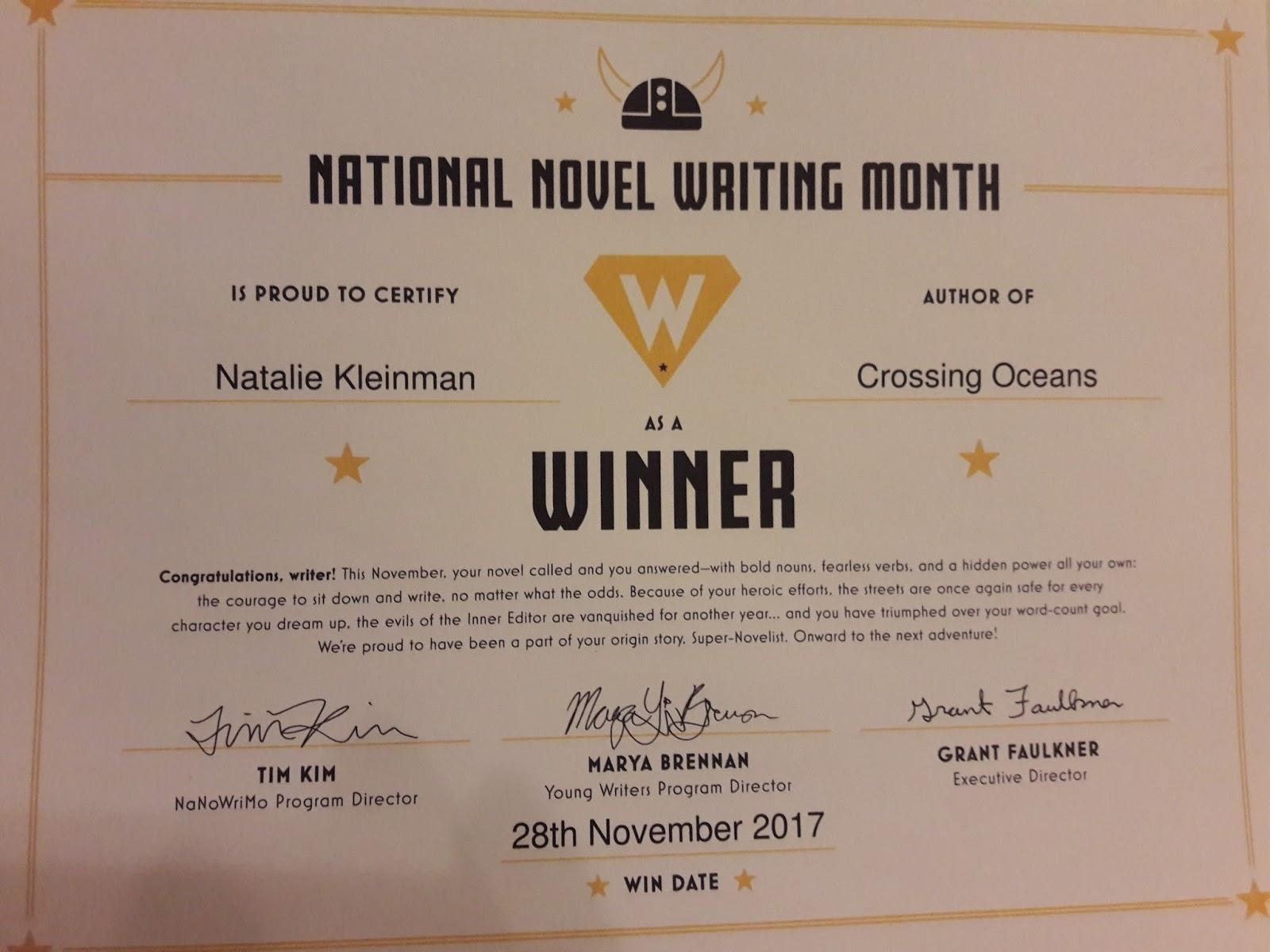 Natalie Kleinman Freelance Writer November 2017
