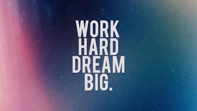 Kerja keras tidak akan mengkhianati (Work Hard)