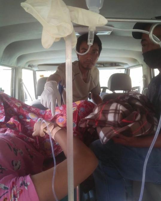 Driver-in Ambulance chhungah nau chhar!