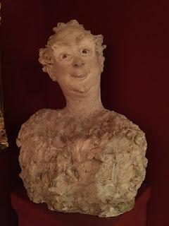 Paris Carnavalet Museum Bust Albert Brasseur
