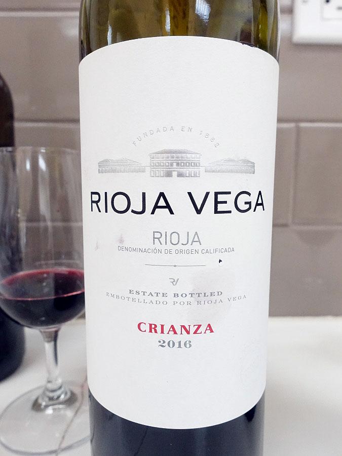 Rioja Vega Crianza 2016 (88 pts)
