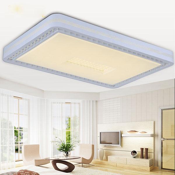 Trần phòng khách hiện đại ứng dụng công nghệ xuyên sáng