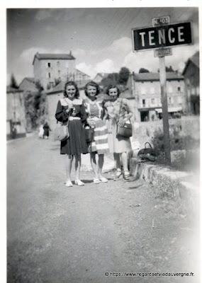 Tence, Haute-Loire.