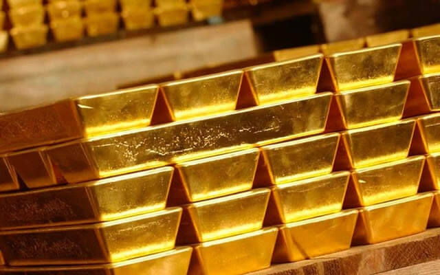 Gold prices today .. and the 21 caliber settle at 631 pounds per gram