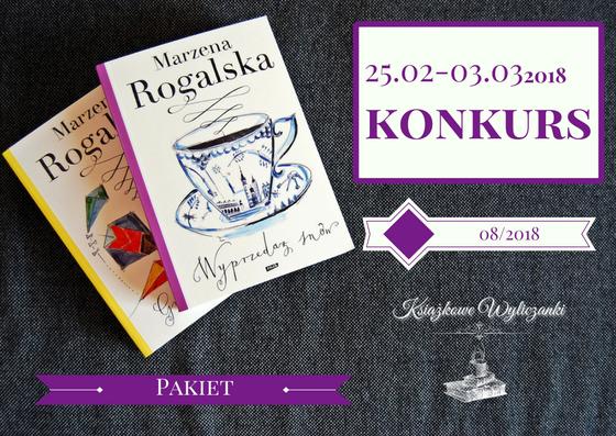 """KONKURS """"Wyprzedaż snów"""" i """"Gra w kolory"""" Marzena Rogalska"""
