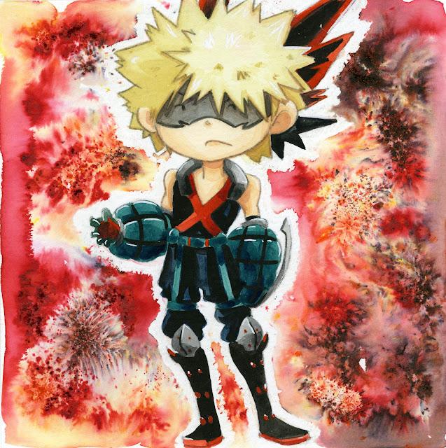 Bakugo, BNHA, Boku No Hero Academia, My Hero Academia