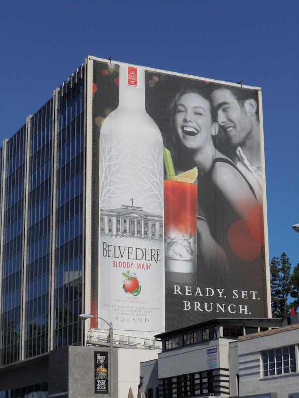 Belvedere Bloody Mary Vodka billboard