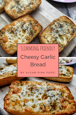 Slimmming world friendly cheesey garlic bread fakeaway recipe