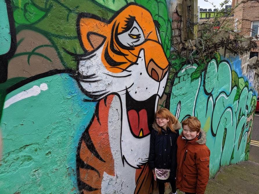 Shere Khan Street Art Ouseburn