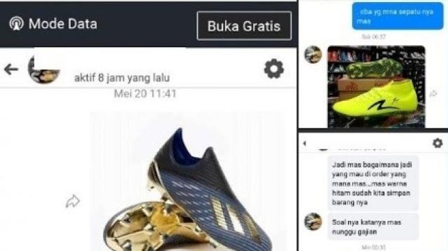 HEBOOH, Buntut Gagal Transaksi di Online Shop, Calon Pembeli Malah Diancam Santet