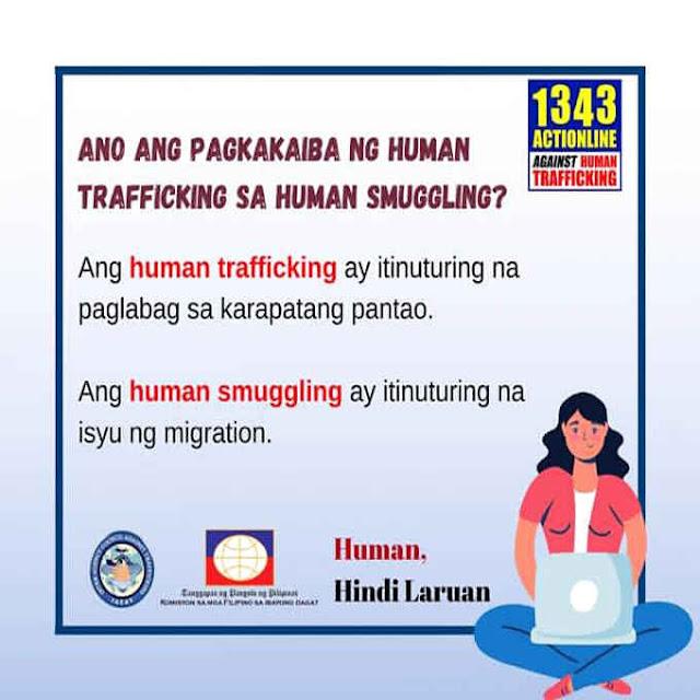 pagkakaiba ng human trafficking sa human smuggling