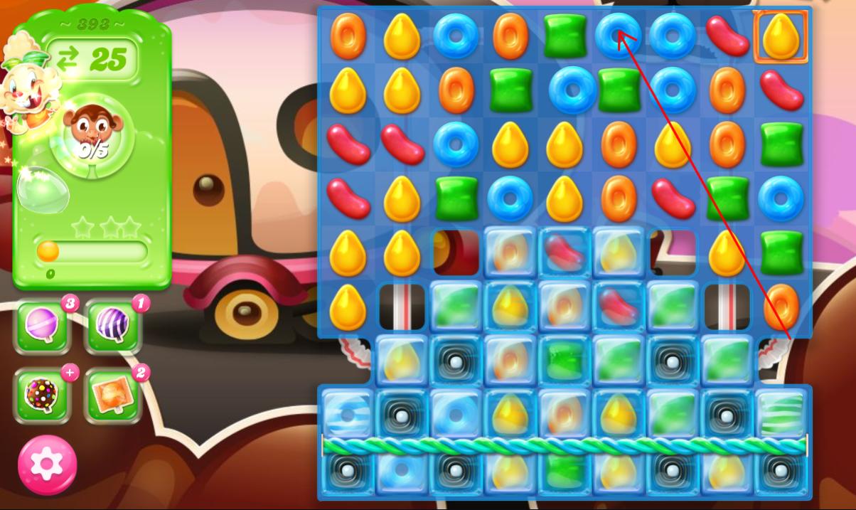 Candy Crush Jelly Saga 393