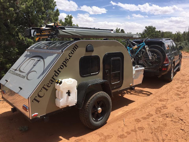 tiny teardrop trailer camping, TC Teardrops