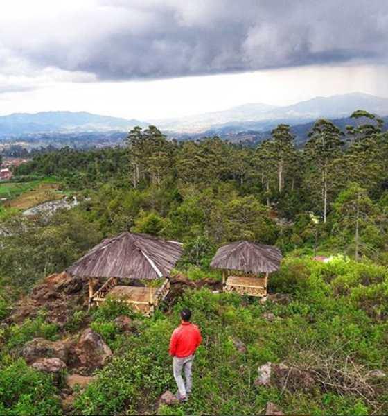 Bukit Keraton Punceling Pass Ciwidey Bandung