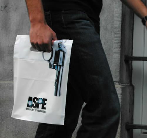 Desain Paper Bag/ Tas Belanja unik, dan langka