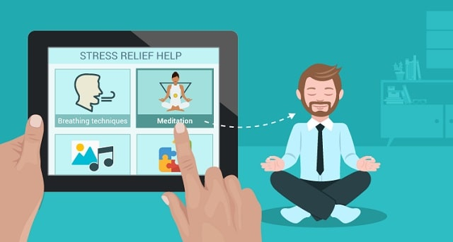best mobile apps help fight stress smartphone applications reduce anxiety