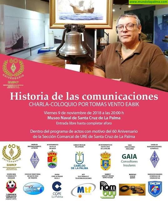 """Charla-Coloquio """"Historia de las Comunicaciones"""""""