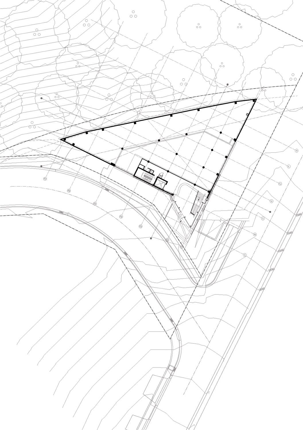 Second floor plan drawing © courtesy of tony owen partners