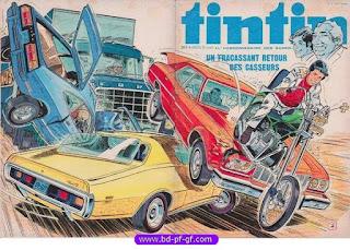 Tintin numéro 8, 1976, Les casseurs