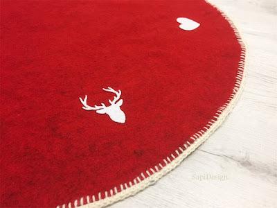 Christmas Tree carpet SapiDesign