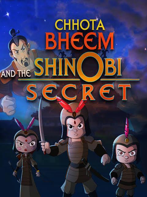 Chhota Bheem And The Shinobi Secret Movie Images In HD