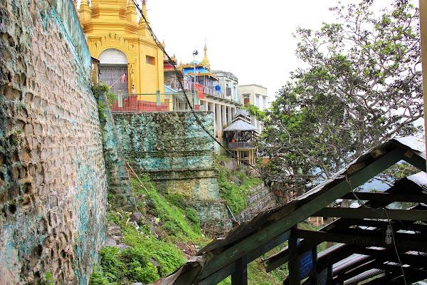 Top of Mount Popa - Myanmar