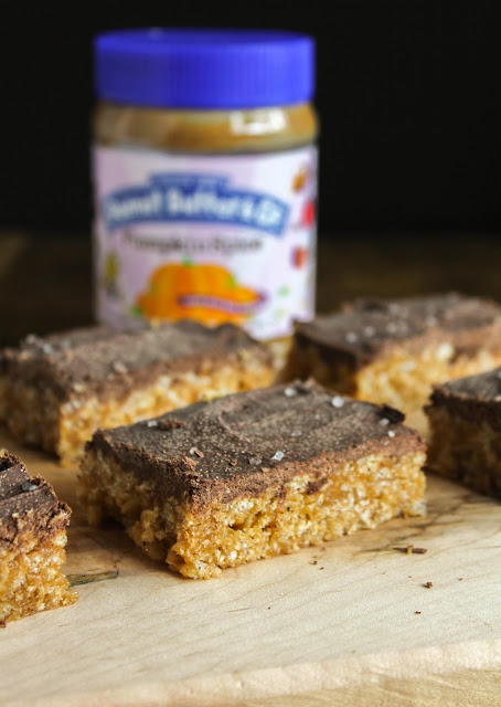 Pumpkin Spice Peanut Butter Bars | The Chef Next Door