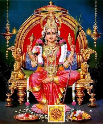 श्री ललिता सहस्रनाम स्तोत्रम् Lalitha Sahasranama Stotram Hindi Lyrics
