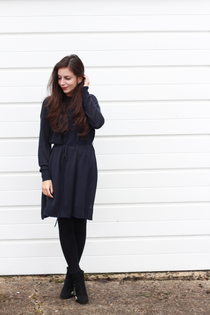 Navy Jumper Dress H&M outlet