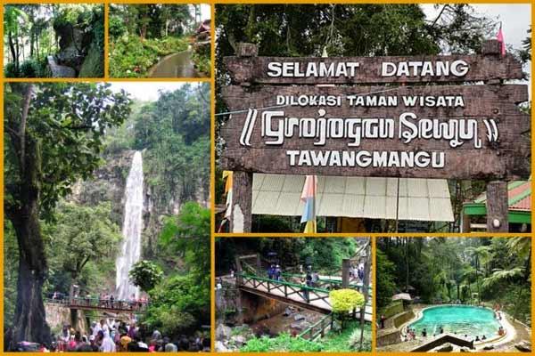 Wisata ke Wisata Grojogan Sewu Tawangmangu, Jawa Tengah