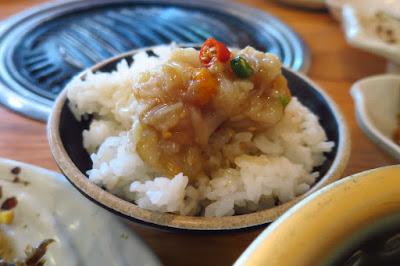 The Gogijip (고깃집,), ganjang gejang rice