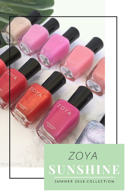 Zoya Sunshine Collection