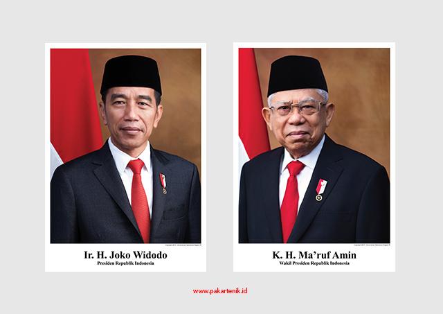 Download Foto Resmi Presiden dan Wakil Presiden Kulitas HD