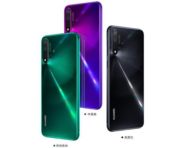 سعر ومواصفات هاتف Huawei Nova 5 الجديد مع كاميرا خلفية 48 ميغابكسل !