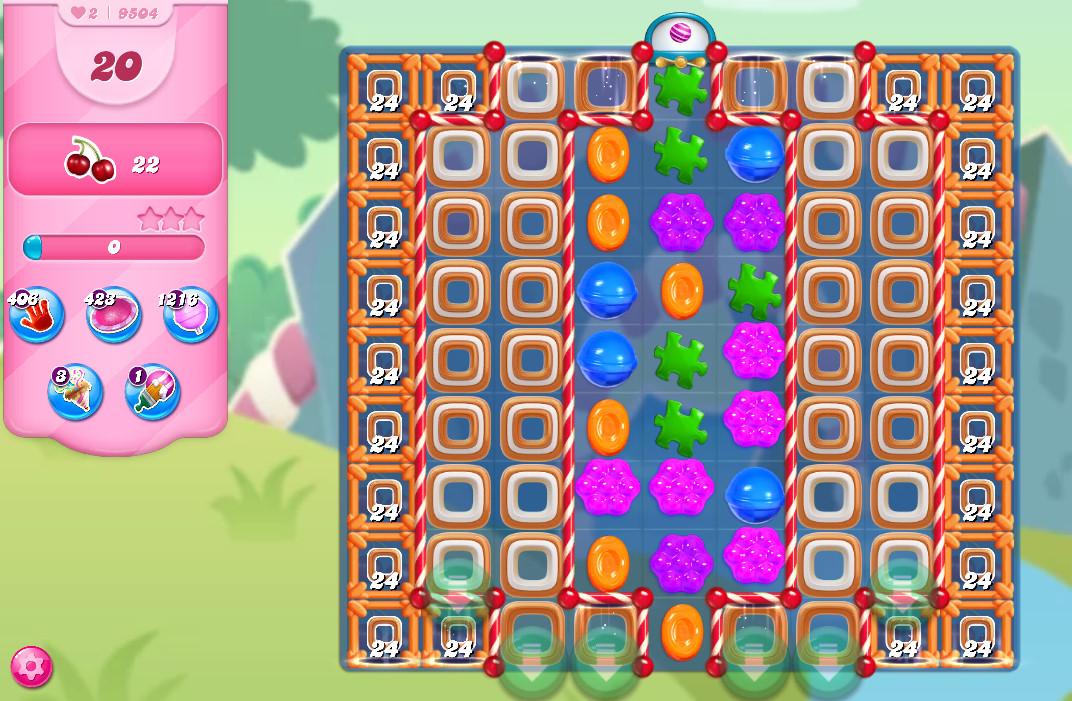 Candy Crush Saga level 9504