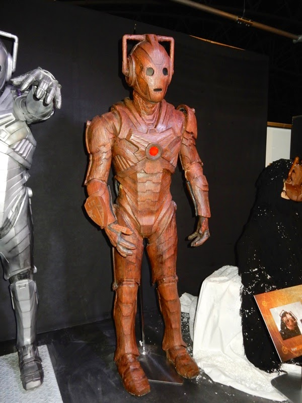 Wooden Cyberman Doctor Who The Time of the Doctor