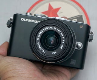 Jual Mirrorless Olympus E-PL3 + Kit 14-42mm Bekas