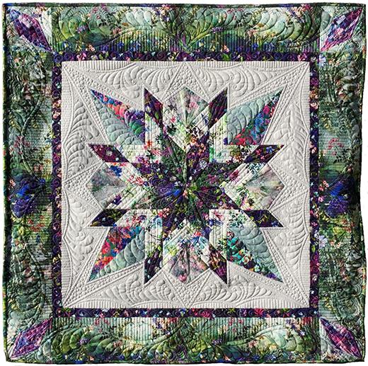 Wildwood Way Star Gazer Quilt Free Pattern