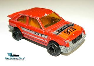 Majorette, Ford Escort XR3