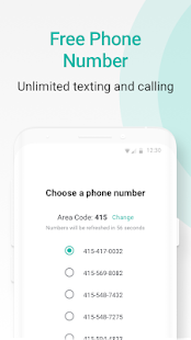 2nd Line Canada Phone Number Mod Apk