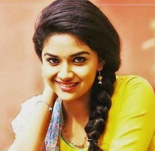 Keerthy Suresh in Yellow Dress